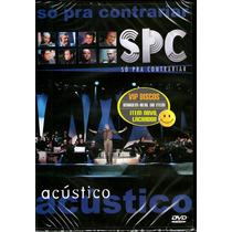 Dvd Só Pra Contrariar Spc Acústico Com Caetano Fábio Jr Gil