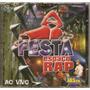 Cd Espaço Rap - Festa Ao Vivo - Novo Dual Disk Cd + Dvd
