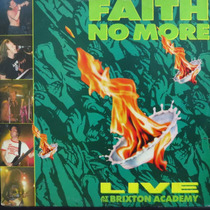 Lp Faith No More - Live At The Brixton Academ Vinil Raro