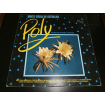 Lp Poly, Noite Cheia De Estrelas, Disco Vinil, Ano 1989