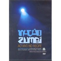 Dvd Nacao Zumbi - Ao Vivo No Recife 2012