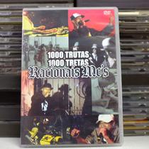 Racionais Mcs 1000trutas 1000tretas - Dvd Documentário Show