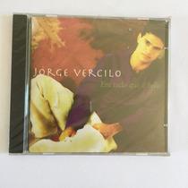 Cd Jorge Vercilo Em Tudo Que É Belo 1996 Original Lacrado
