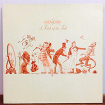Lp Genesis A Trick Of The Tail Imp Capa Dupla Texturizada