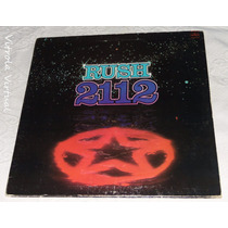 Lp Rush 2112 Mercury 1976 Made In Usa Capa Dupla