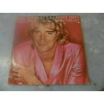 Lp- Rod Stewart Greatest Hits - Disco De Vinil Ees