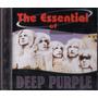 Cd Deep Purple The Essential Of Deep Purple Cd Novo