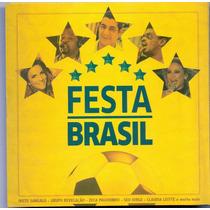 Cd Festa Brasil - Filhos De Vera Cruz / Zeca Pagodinho -