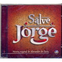 Cd Salve Jorge Instrumental Alexandre Faria Novela Lacrado