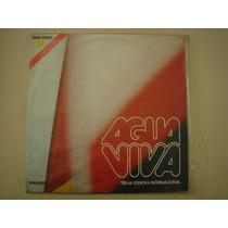 Lp - Novela - Agua Vivainternacional- 1980
