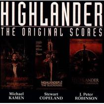 Cd - Highlander - The Original Scores - 1990 - Importado