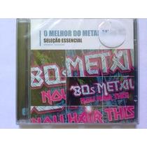 O Melhor Do Metal Anos 80 Cd Lacrado Sony Music