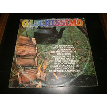 Lp Gauchíssimo - Diversos, Disco Vinil, 1986