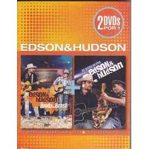 Edson & Hudson Dvd Duplo 2 Por 1 Lacrado