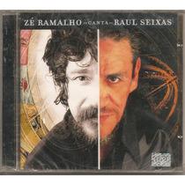 Zé Ramalho - Canta Raul Seixas - Cd Novo Lacrado! 1ª Edição