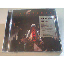 Katatonia Night Is The New..cd Lacrado (pta Entrega) 4 Bonus