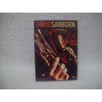 Dvd Original David Sanborn- Live At Montreux 1984