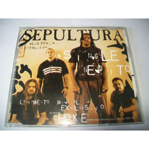 Cd Single Sepultura - Choke* Revista Trip* Fotos Reais