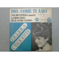 Compacto Vinil Gigliola Cinquetti 1967