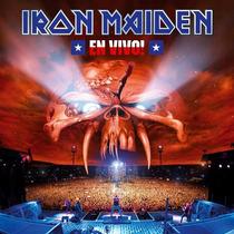 Iron Maiden - En Vivo (cd Lacrado - Álbum Duplo)