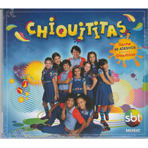 Cd Chiquititas - 26 Adesivos - Lacrado