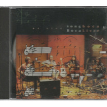 Cd Boca Livre - Songboca - Ao Vivo - 1994