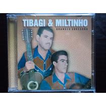 Cd Tibagi & Miltinho - ( Grandes Sucessos ).