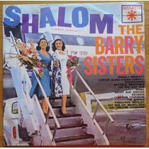The Barry Sisters Lp Nacional Usado Shalom