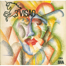 Lp 3ª Visão - Arcanjo, Amigo Meu - 1987 - Disco Ban
