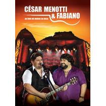 Cd + Dvd César Menotti & Fabiano - Ao Vivo No Morro Da Urca