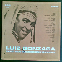 Luiz Gonzaga Lp Nac Usado Canta Seussucessos Com Zédantas