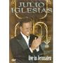 Dvd Julio Iglesias - Live In Jerusalém - Novo***