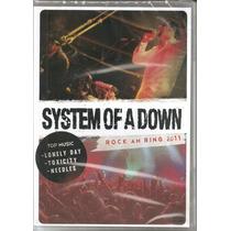 System Of A Down-rock Am Ring 2011 Dvd Com 26 Faixas Raro.