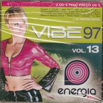 Cd Duplo Vibe 97 Vol. 13 - Energia 97 Fm - Novo***