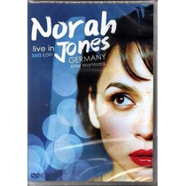 Dvd Norah Jones - Live In Germany Koln 2012 - Lacrado
