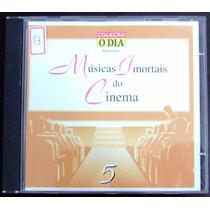 Cd Músicas Imortais Do Cinema - Vol. 5 - Coleção O Dia