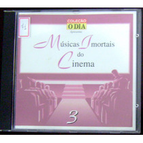 Cd Músicas Imortais Do Cinema - Vol. 3 - Coleção O Dia