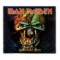 Iron Maiden Cd Duplo Greatest Hits Novo Lacrado E Imp Russia