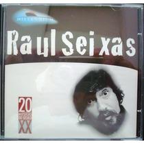 A1854 Cd Raul Seixas De 1998 Da Millenium Coletania 20 Músic