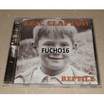 Eric Clapton - Cd Reptile Importado Japão Bonus Tracks