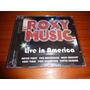 Roxy Music - Cd Live In America - Lacrado - Nacional