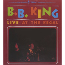 Cd B.b. King Live At The Regal =import= Novo Lacrado