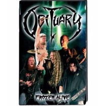 Dvd Obituary - Frozen Alive