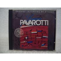 Cd Luciano Pavarotti- Trechos Favoritos De Óperas- Som Livre