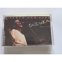Fita K7 Cazuza O Tempo Não Pára Ao Vivo 1988 Original