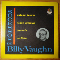 Billy Vaughn Compacto Vinil Nac Sucessos De B V 45 Rpm Mono