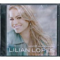 Cd Lilian Lopes - Vento De Adoração * Original