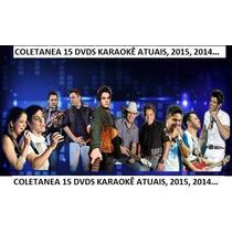 Dvdoke 2015 Karaokê 15 Cd Dvds 1001 Musicas Sertanejo Mpb