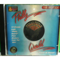Cd Phillyz World Round N Round The Best Of Importado Raro