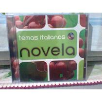 Cd Temas Italianos @ Novelas (lacrado) Frete Grátis